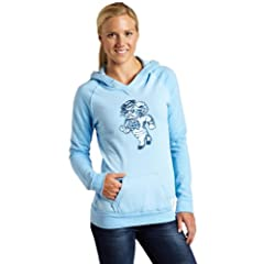 NCAA North Carolina Tar Heels 2-Tone Hoodie Ladies by Original Retro Brand