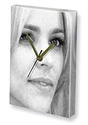 RACHEL McADAMS - Canvas Clock (LARGE A3 - Signed by the Artist) #js004