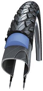 Schwalbe Marathon Plus Tour Pneu SmartGuard® avec bandes réfléchissantes Noir 28 x 1,4 890 g (ETRTO 37-622)