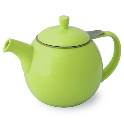 Forlife Curve 24-Ounce Teapot With Infuser, Lime