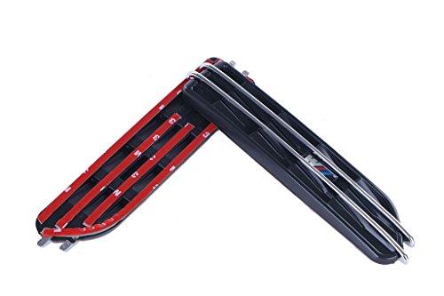 General Mega All BMW M E46 E90 3 Series Black Side Fender Grille Vent Air Flow Exterior (Bmw E90 Vents compare prices)