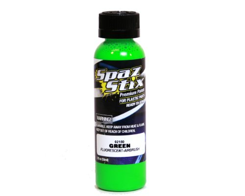 Green Fluorescent Airbrush Paint 2oz