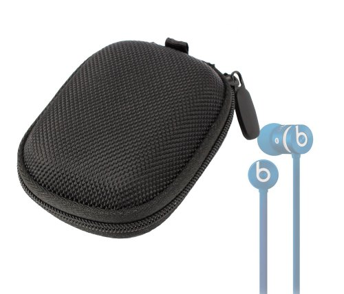Duragadget Hard Eva Protective Storage Case / Bag For Headphones & Earphones In Black For Beats By Dr. Dre Urbeats / Urbeats Se / Tour / Powerbeats / Hearbeats