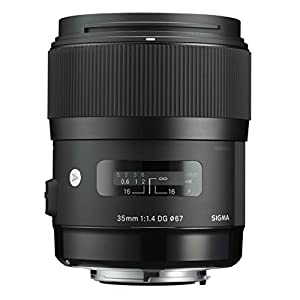 Sigma 35mm F1.4 DG HSM Lens for Nikon