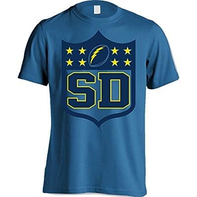 San Diego Chargers - Shield Shirt - Powder Blue