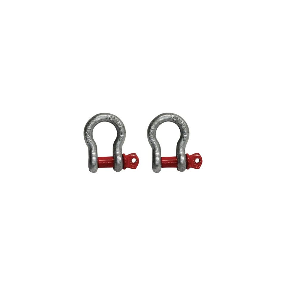 e16ecd844df8a Portable Winch Shackles 1/2in., 2 Ton Working Load, 2 Pack, Model ...