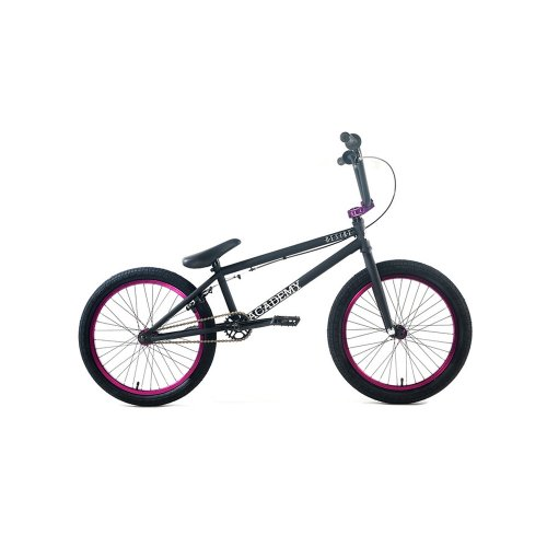 Academy Desire BMX Bike, Black with Purple, 20-Inch