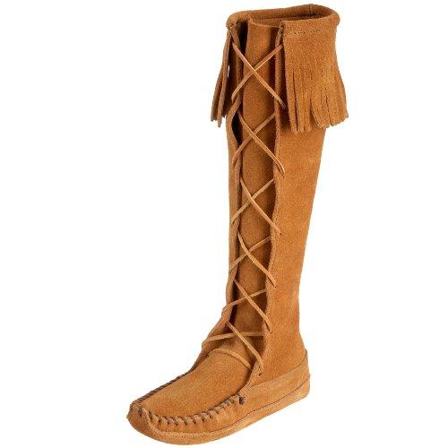 Minnetonka Women's Front Lace Knee Hi Boot