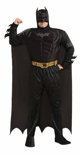 Rubies Costume Co The Dark Knight Rises Muscle Chest Batman Set at Gotham City Store