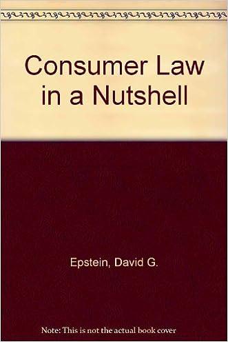 Consumer Law in a Nutshell (NUTSHELL SERIES)