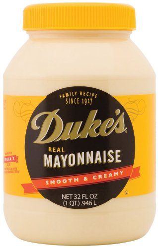 Dukes Mayonnaise, 32-Ounce Jars (Pack of 4)