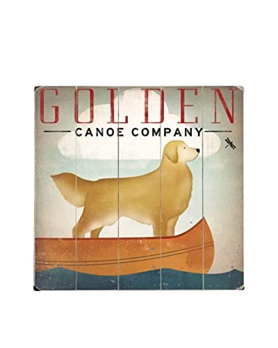 Artehouse Golden Canoe Company Wood Wall Décor, Brown/Beige