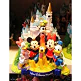 Disney Cinderalla Castle Mickey & Friends Bank