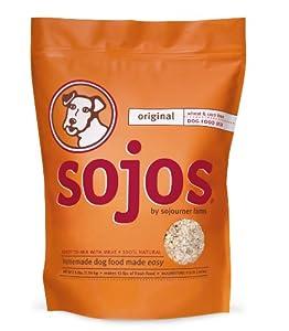 Sojos Original Dog Food Mix, 40 lb
