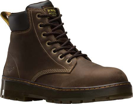 Dr. Martens Men's Winch Extra Wide Steel Toe 7 Eye Boot,Dark Brown Wyoming Leath (Extra Wide Steel Toe Shoe compare prices)