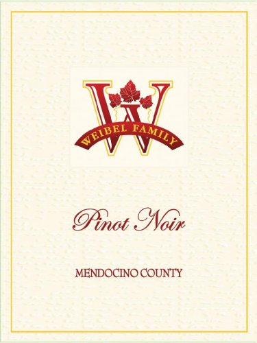 2010 Weibel Family Mendocino County Pinot Noir 750Ml