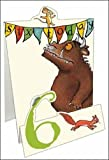 The Gruffalo Age 6/6th Birthday Pop Up Birthday Card