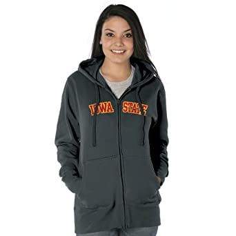 NCAA Iowa State Cyclones Ladies Franchise Redux Nuvola Full-Zip Sweatshirt by Ouray Sportswear