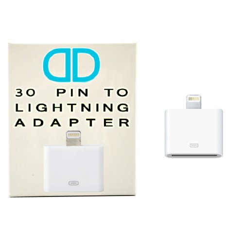 DD 30 PIN TO 8 PIN ADAPTER FOR IPHONE 5/5C/5S,