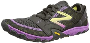 New Balance Womens Trail Running Shoes WT10BP2 Black/Purple 8 UK, 41.5 EU