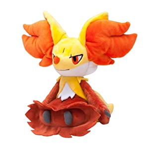 Amazon.com: Pokemon Center Plush Doll Delphox Doll: Toys