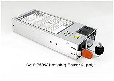 750W redundant power supply for Dell PowerEdge R720, R720XD, R520, R620, R820, T320, T420 and T620 server.