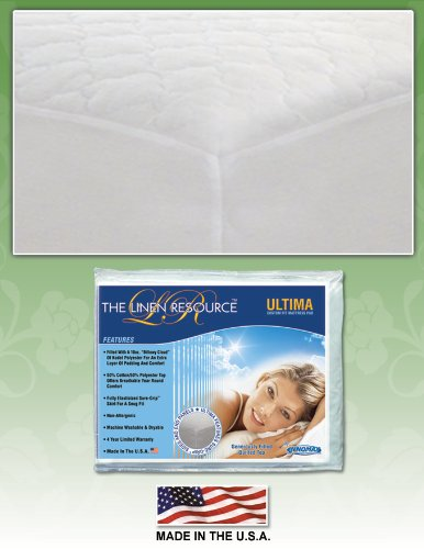 Ultima Custom Fit Mattress Pad By Innomax, Cal King front-784233