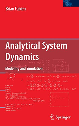 Analytical System Dynamics: Modeling and Simulation
