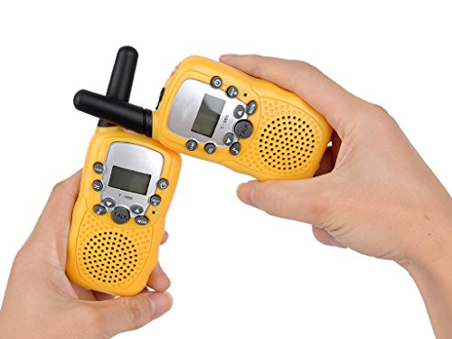 Walkie Talkie Amateur Tow Way Yellow