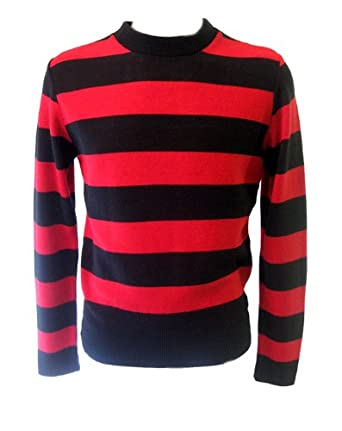 Find great deals on eBay for mens red black striped jumper. Shop with confidence.