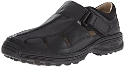 Timberland Men\'s Altamont Fisherman Sandal,Black,10.5 D(M) US