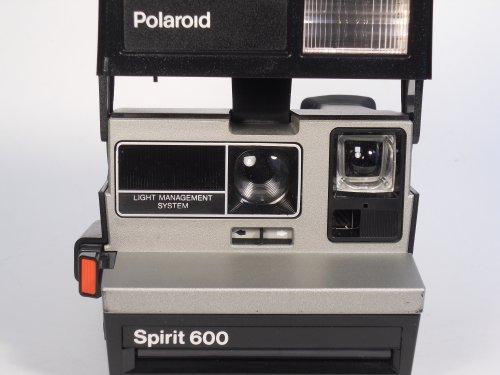 Polaroid Spirit 600 Vintage Instant Camera w/ Silver/Gray Front 1
