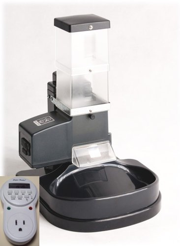 Automatic CSF-3 Cat Feeder with Digital Timer