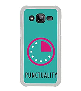 ifasho Puncutality Back Case Cover for Samsung Galaxy J2