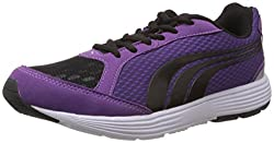 Puma Womens Descendant Ind Wns Black Mesh Sport Running Shoes - 4 UK/India (37 EU)