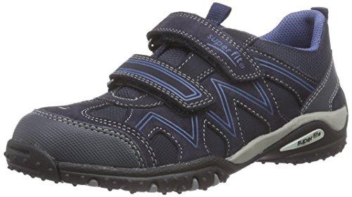 Superfit SPORT4, Sneaker bambini Blu Blau (OCEAN 80) 34