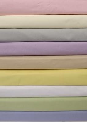 UK Kingsize Base Valance Sheet Frilled (5' bed) polycotton 14 colours