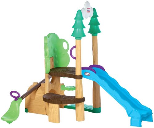 Little Tikes 1,2,3 Climber, See Saw & Slide (Slides Backyard compare prices)