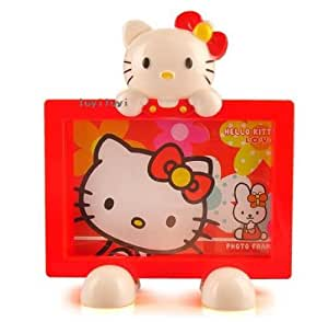 Cute Hello Kitty 4x6 Photo Picture Frame Holder Red Gifts HKPO1R