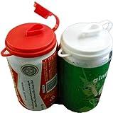 Soda Pop Beer Can Cover Top Beverage Lids Set of (2) New-Kitchen Tools & Gadgets