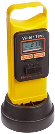 Hanna Instruments HI 98204 Water Test Portable pH/ORP/EC/ degree C Field Meter