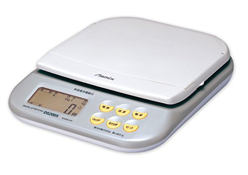 アスカ(Asmix) デジタルスケール 新郵便料金対応 最大計量2kg DS2005
