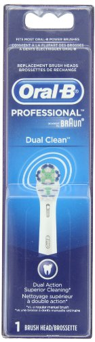 Oral-B Power Dual Clean Replacement Electric Toothbrush Head,1 Count
