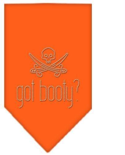 Got Booty Rhinestone Bandana Orange Large Case Pack 24 Got Booty Rhinestone Bandana Orange Large Ca