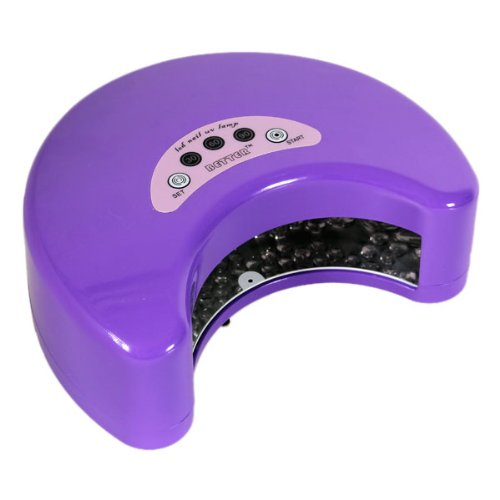 Excelvan 12W Led Nail Gel Cure Lamp Harmony Shellac Uv Dryer Led Nail Gel Polish - Purple Color