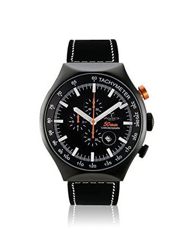 Avio Milano Men's 50 MM Black Rubber Watch