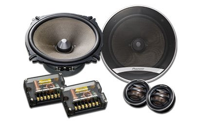 "New Pioneer Ts-D1720C 6.75"" D-Series 280-Watt Speaker Package (Car Stereo Speakers)"