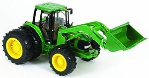 Big Farm - 42425 - Vélo et Véhicule pour Enfant - Tracteur JD 6830S avec Chargeur