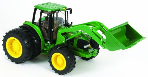 Britains Big Farm John Deere 6830S Tractor With Dual Wheels And Loader