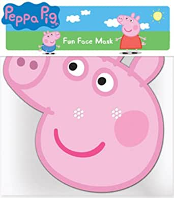 Amazon.com: Peppa Pig Party Face Mask: Clothing